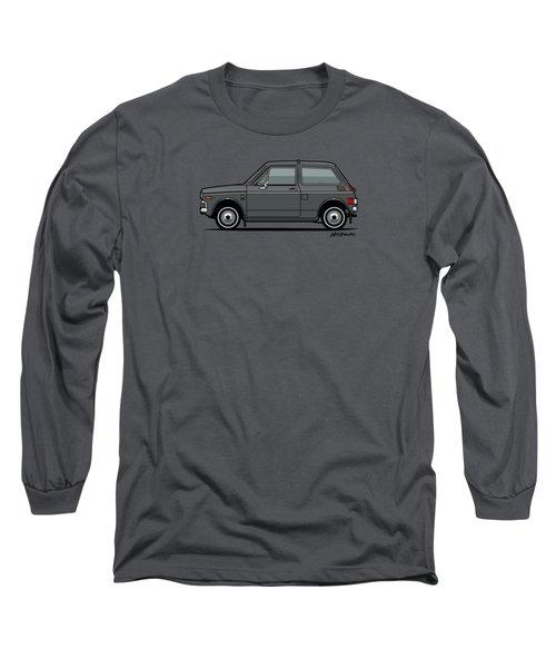 Honda N600 Gray Kei Car Us Version Long Sleeve T-Shirt