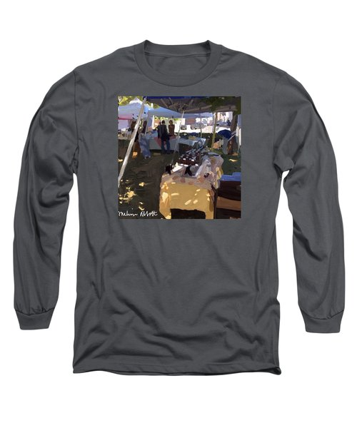 Honey Tent At Farmer's Market Long Sleeve T-Shirt