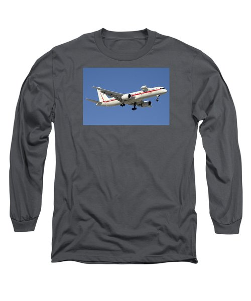 Honeywell Boeing 757-225 N757hw Phoenix Sky Harbor December 7 2015 Long Sleeve T-Shirt