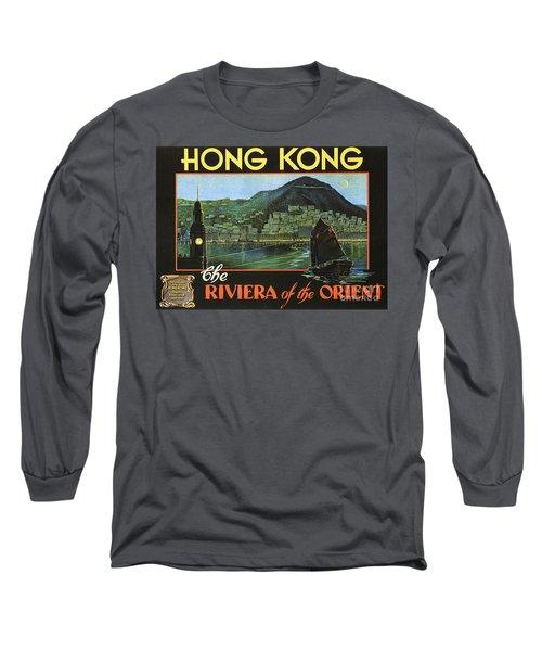 Hong Kong - Riviera Of The Orient Long Sleeve T-Shirt