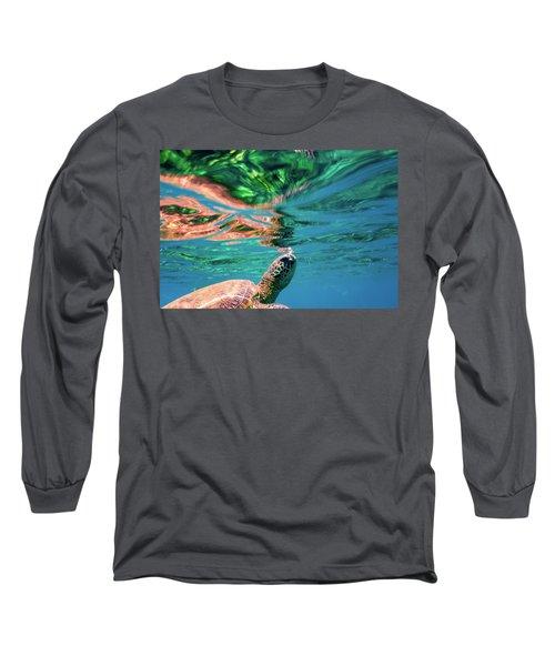 Hono Abstract Long Sleeve T-Shirt