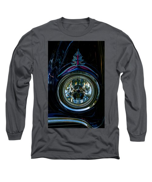 Long Sleeve T-Shirt featuring the photograph Hood Wink 55 Lincoln by Trey Foerster