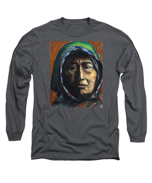 Hooded Woman Long Sleeve T-Shirt