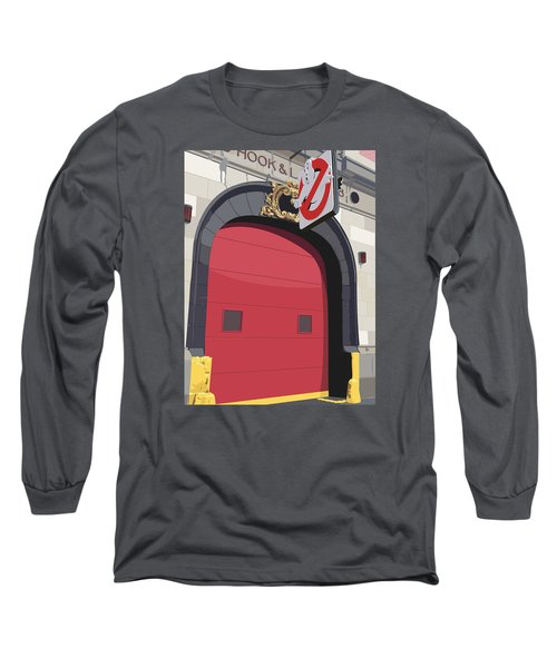 Hook And Ladder No. 8 Long Sleeve T-Shirt