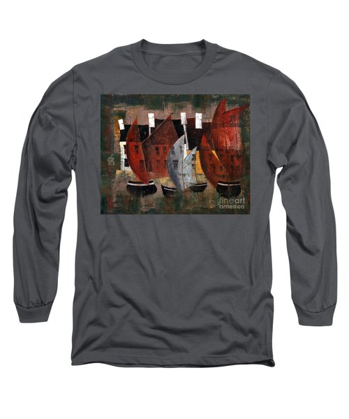 Hookers In The Cladagh Long Sleeve T-Shirt