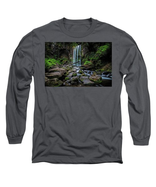 Hopetoun Falls Long Sleeve T-Shirt by Mark Lucey