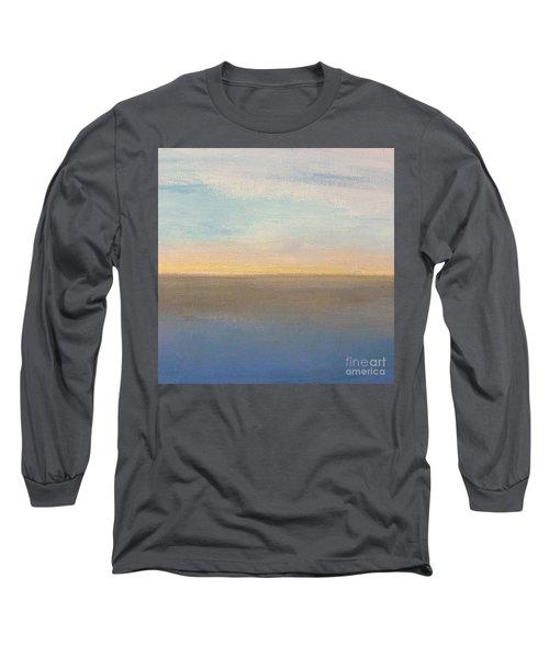 Horizon Aglow Long Sleeve T-Shirt by Kim Nelson