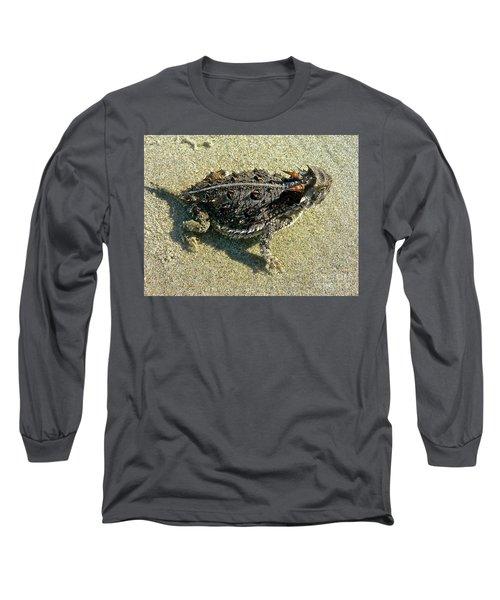 Horny Toad Lizard Long Sleeve T-Shirt