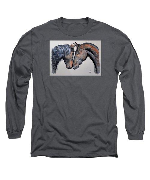 Horse Lovers Long Sleeve T-Shirt