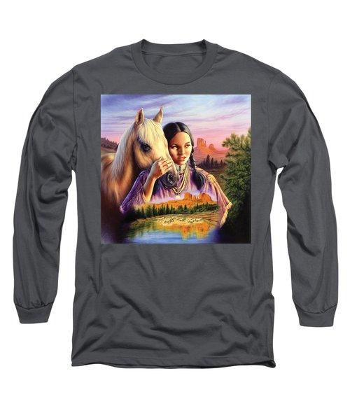 Horse Maiden Long Sleeve T-Shirt