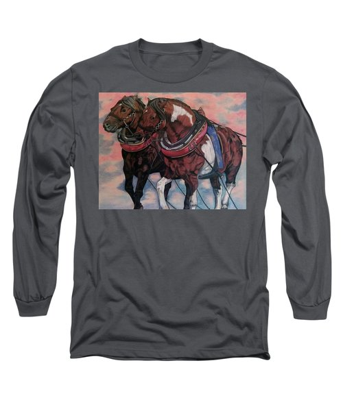 Horse Power Long Sleeve T-Shirt