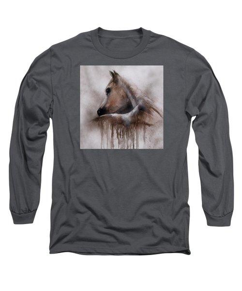 Horse Shy Long Sleeve T-Shirt