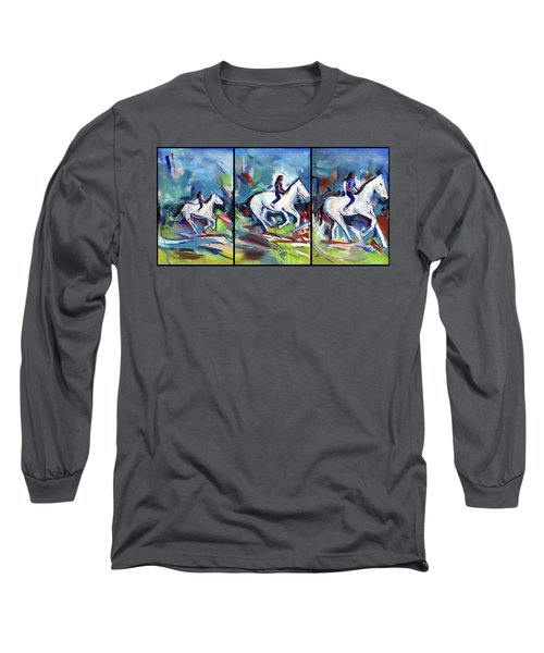 Horse Three II Long Sleeve T-Shirt