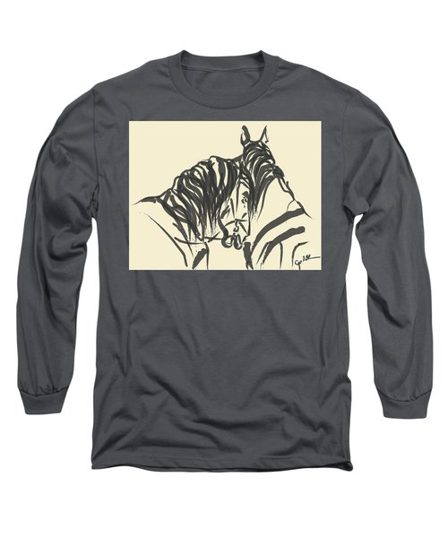 Horse - Together 9 Long Sleeve T-Shirt