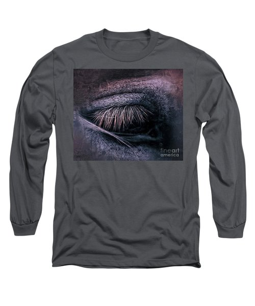 Horses Eye-color Long Sleeve T-Shirt