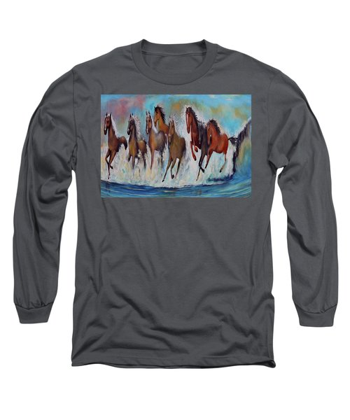 Horses Of Success Long Sleeve T-Shirt