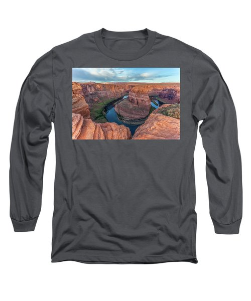 Horseshoe Bend Morning Splendor Long Sleeve T-Shirt