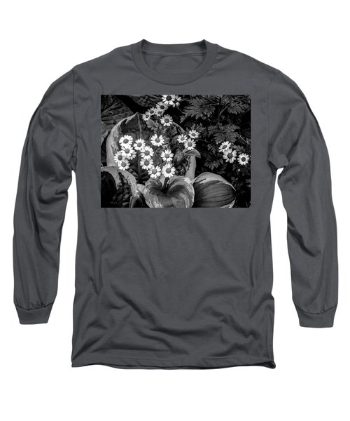 Hosta Daisies Long Sleeve T-Shirt