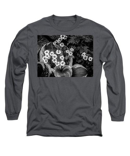 Hosta Daisies Long Sleeve T-Shirt