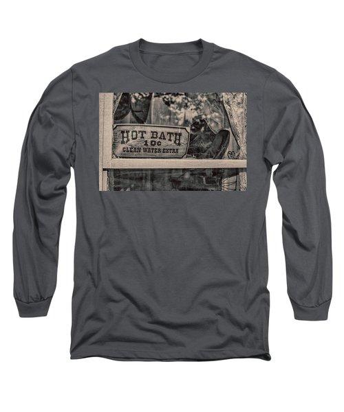 Hot Bath Long Sleeve T-Shirt