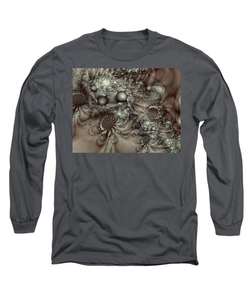 Hot Chocolate Possibilities Long Sleeve T-Shirt by Casey Kotas