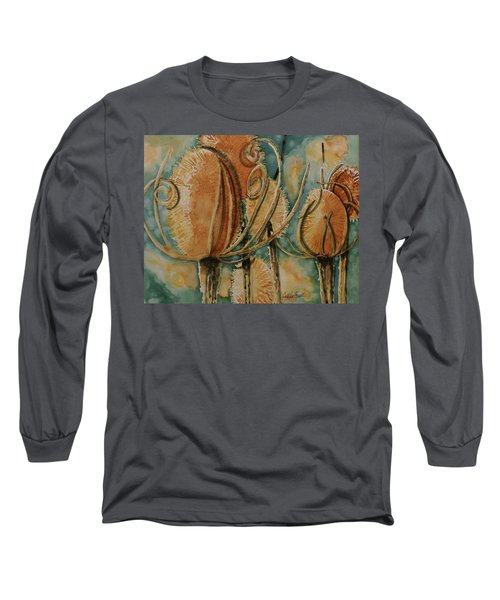 Hot Desert Sun Long Sleeve T-Shirt by Cynthia Powell