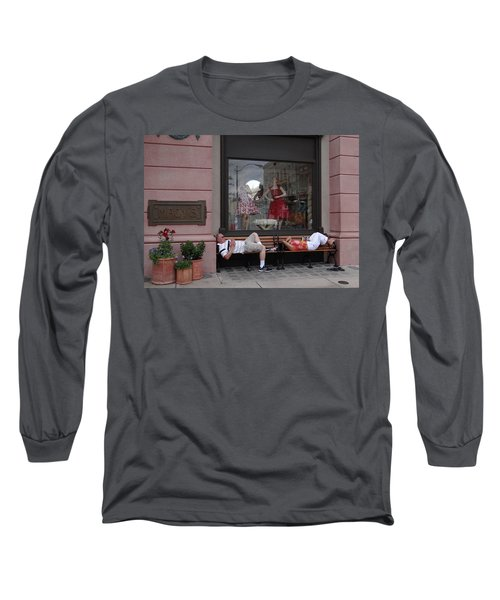 Hot In The City Long Sleeve T-Shirt