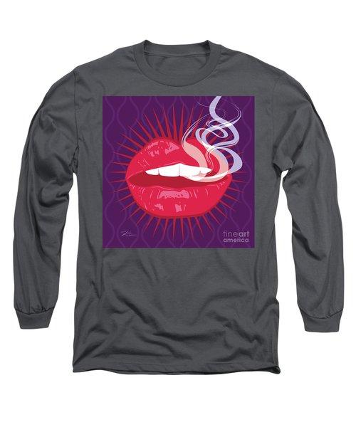 Hot Lips Long Sleeve T-Shirt