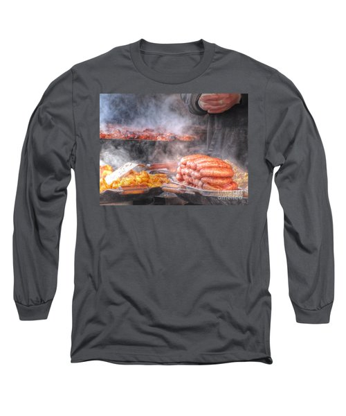 Hot Sausage Hot Dog Long Sleeve T-Shirt