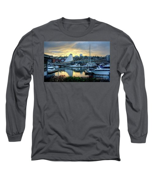 Hot Shop Cone Cloudy Twilight Long Sleeve T-Shirt by Chris Anderson