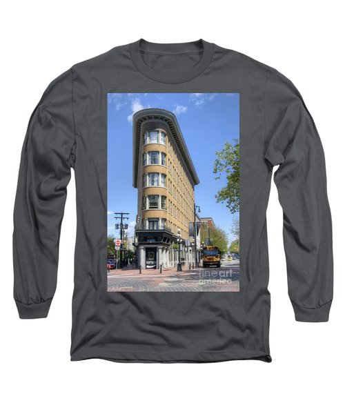 Hotel Europe In Vancouver Long Sleeve T-Shirt