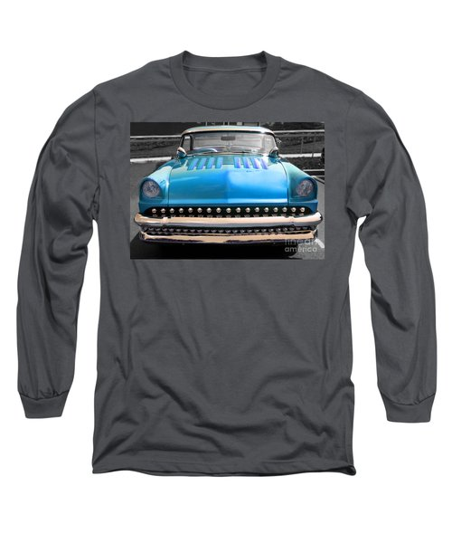 Hotrod  Long Sleeve T-Shirt by Raymond Earley