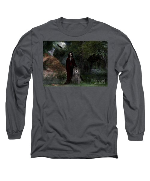Hour Of The Wolf Long Sleeve T-Shirt