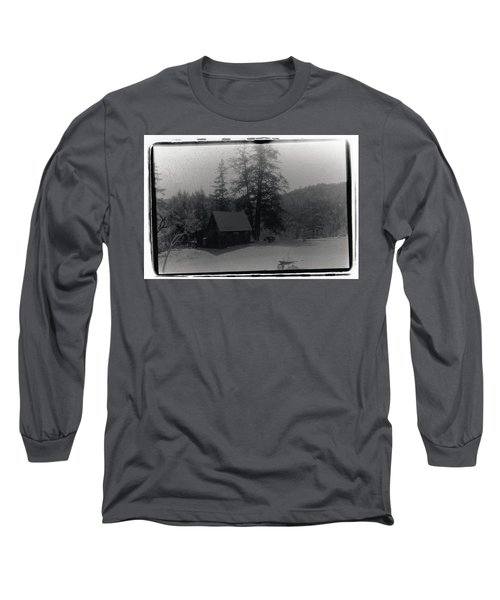 House And Horse Long Sleeve T-Shirt