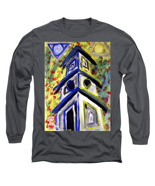 House Long Sleeve T-Shirt by Luke Galutia