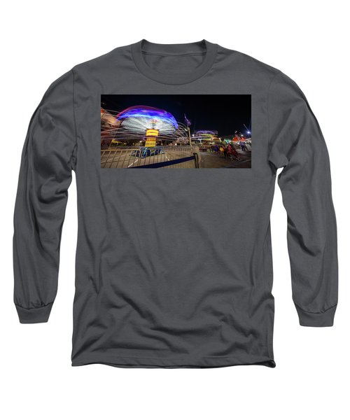 Houston Texas Live Stock Show And Rodeo #10 Long Sleeve T-Shirt by Micah Goff
