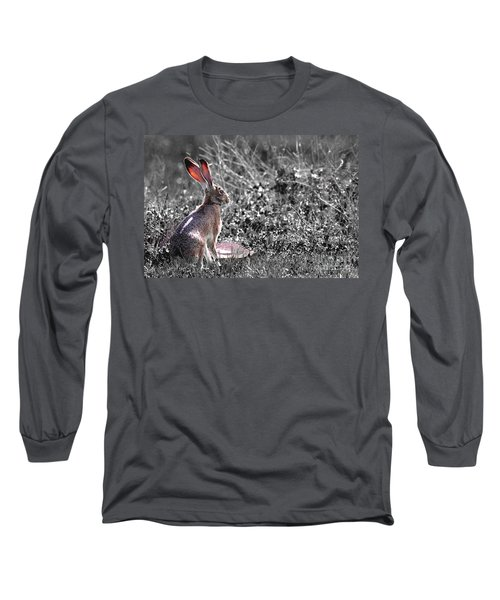 How About Two Out Of Three . Desaturated Long Sleeve T-Shirt