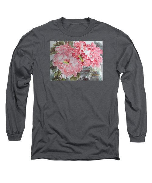 Long Sleeve T-Shirt featuring the painting Hp11192015-0761 by Dongling Sun