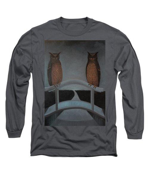 Hu-hu-bro Long Sleeve T-Shirt by Tone Aanderaa