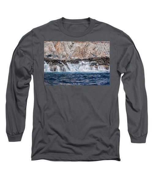 Huatulco Textures Long Sleeve T-Shirt by Ana Mireles