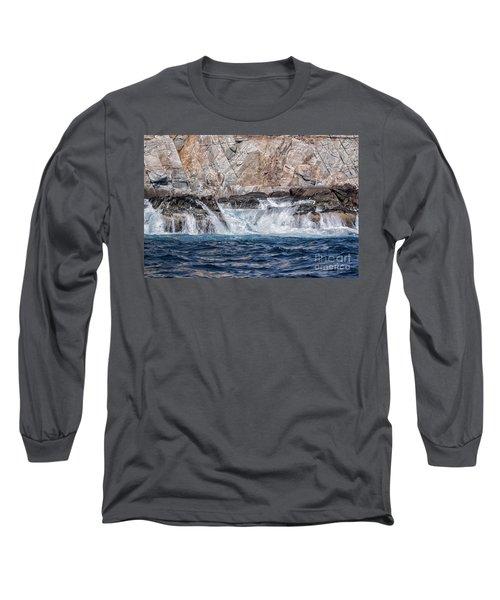 Huatulco's Texture Long Sleeve T-Shirt