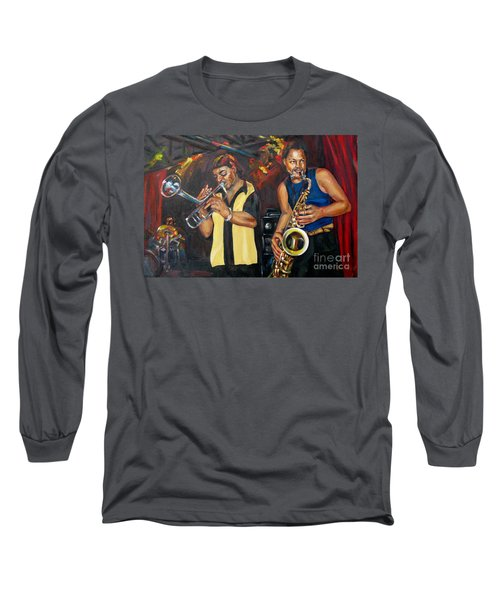Hud N Lew/ The Daddyo Brothers Long Sleeve T-Shirt
