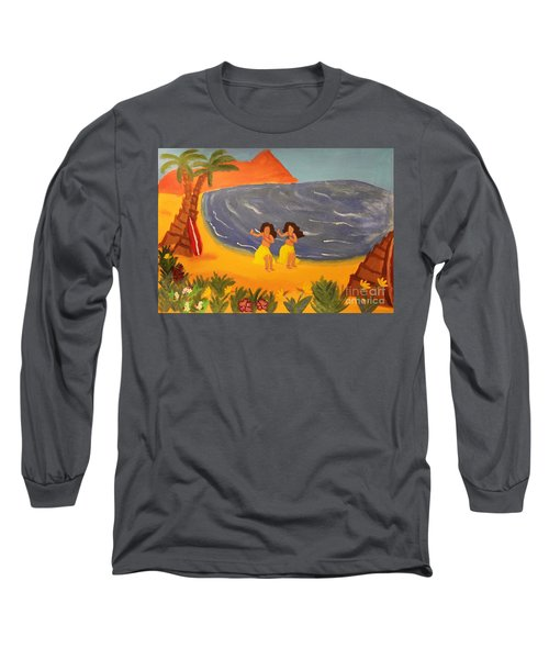 Hula Girls Long Sleeve T-Shirt
