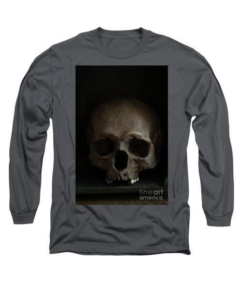 Human Skull Long Sleeve T-Shirt