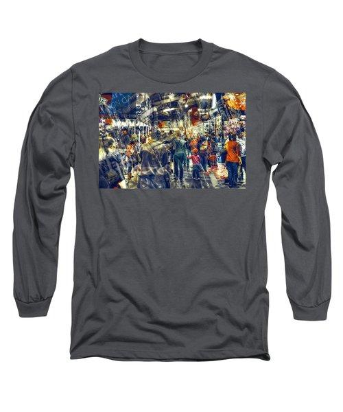 Human Traffic Long Sleeve T-Shirt
