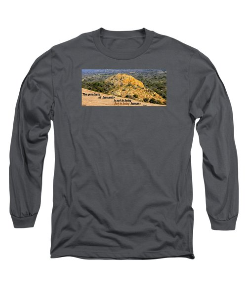 Humanity Reworked Long Sleeve T-Shirt by David Norman