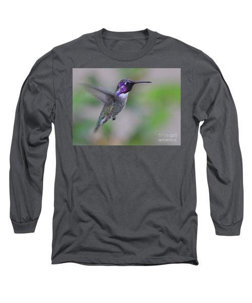 Hummingbird Flight Long Sleeve T-Shirt