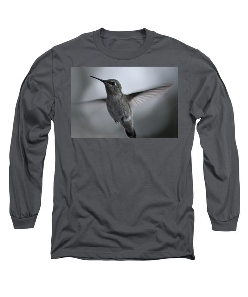 Long Sleeve T-Shirt featuring the photograph Hummm by Cathie Douglas
