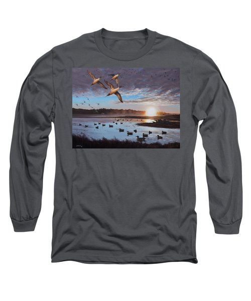 Humphrey Farm Pintails Long Sleeve T-Shirt