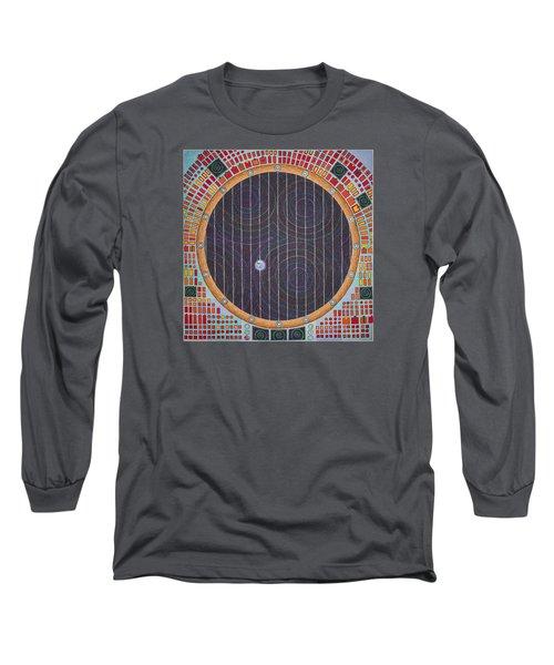 Hundertwasser Shuttle Window Long Sleeve T-Shirt